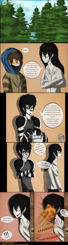 Adventures With Jeff The Killer - PAGE 86 by Sapphiresenthiss on deviantART