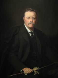 Theodore Roosevelt President Portrait by Adrian Lamb, 1908 at National Portrait Gallery : Theodore Roosevelt President Portrait by Adrian Lamb, 1908 at National Portrait Gallery Theodore (Teddy) Roosevelt President Portrait by Adrian Lamb List Of Presidents, Presidents Wives, Greatest Presidents, American Presidents, American Soldiers, Us History, Women In History, British History, Ancient History