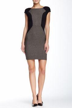 Annis Colorblock Sheath Dress