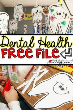 Health FREEBIE - Check out this lesson plan and free file on dental health!Dental Health FREEBIE - Check out this lesson plan and free file on dental health! Dental Health Month, Oral Health, Health Care, Health Tips, Health Benefits, Mental Health, Dental Kids, Free Dental, Health Lesson Plans