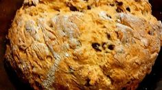 Make an easy, round loaf of traditional Irish soda bread with a cross cut into the top with this recipe from a real Irish grandma.