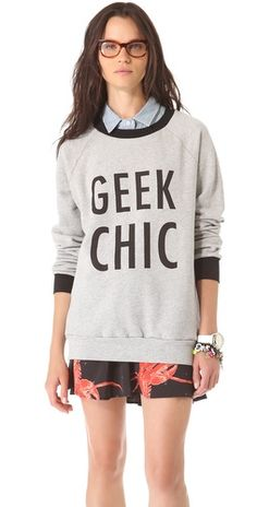 Geek Chic Sweatshirt