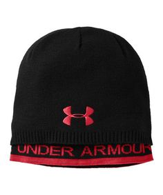 Take a look at this Black UA Layered Beanie by Under Armour® on #zulily today!