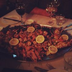 Seafood Platter. The Grand, Cape Town