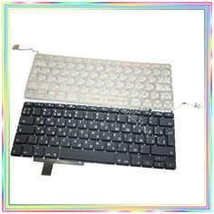 """Brand new Russian RU Keyboard without Backlight for Macbook Pro 17.1"""" A1297 2009-2011 Years"""