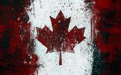 maple-leaf, канада, canada, кленовый лист, флаг, flag