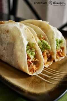 #RECIPE - Crockpot Chicken Tacos