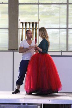 Les amants de la Bastille, behind the scenes