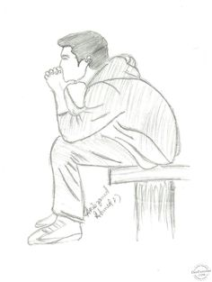 pencil drawings of lonely boy - Google Search