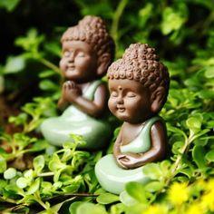 Little Buddha art ☸️ Small Buddha Statue, Buddha Art, Buddha Statues, Buddha Logo, Buddha Quote, Baby Buddha, Little Buddha, Cute Images For Dp, Relaxation Pour Dormir