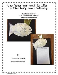 The Fisherman and His Wife Activities | Reading centers ...