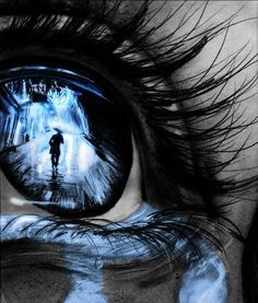 Eye of the Leaving Love Sadness