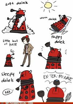 "Big Bang Theory & Doctor Who mashup.  To the tune of ""Soft Kitty"""