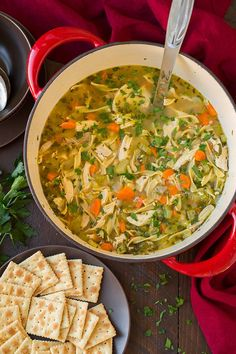 Chicken Noodle Soup   Cooking Classy