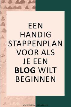 Wil je een blog begi