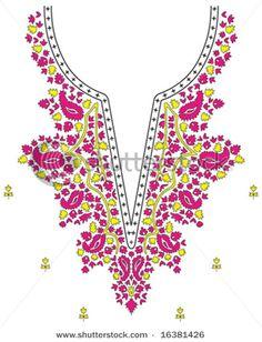 Necklace Design Fashion - stock vector