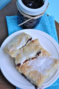 Homemade Toaster Strudel. An easy back to school yummy breakfast.