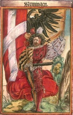This page serves as a basic introduction to the flags or Fahnlein which the Landsknecht units carried into battle. Ancient History, Art History, Renaissance, Banner, Holy Roman Empire, Templer, Landsknecht, Medieval Art, Coat Of Arms