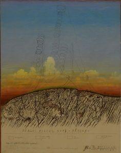 Horia Bernea - Zborul ciocarliei Folklore, Ethnic, Paintings, Board, Paint, Painting Art, Painting, Painted Canvas, Drawings