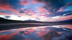 Sunrise Near Badwater, Death Valley, California