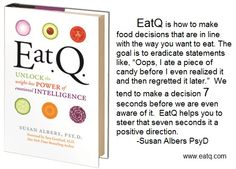 EatQ helps to eat in the way you want, not just the way you intend.  www.eatq.com