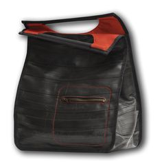 VIENNA red - Products - BalkanTango - Recycled Bicycle Inner Tube Bags, Purses and More