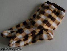 Warm socks free pattern