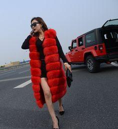 Cheap fur vest jacket, Buy Quality vest fur women directly from China fur vests fashion Suppliers: New 2015 Winter Coat Women Fashion Import Overcoat Whole Peel Fox Fur Faux Vest High-Grade Cappa Fur Coat Leisure Women