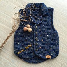 This post was discovered by El Baby Knitting Patterns, Knitting For Kids, Crochet For Kids, Crochet Baby, Baby Pullover, Baby Cardigan, Cat Sweaters, Girls Sweaters, Toddler Sweater