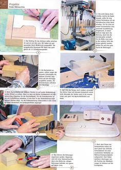 Wooden Toy Sewing Machine - Wooden Toy Plans