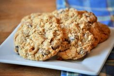 Whole Wheat Oatmeal Chocolate Chunk Cookies. Um. . .pretty incredible! I cut the recipe in half, and I still think they'll be gone by dinner time tonight!