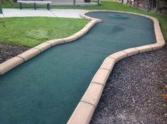 18 holes of miniature golf