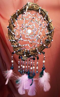 Moon Protector Dreamcatcher Devils Claw and Vine. $65.00, via Etsy.