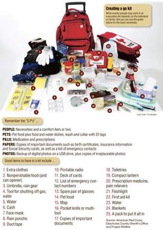 """In case of wildfire, have """"go kit"""" ready"""