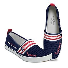 Steppin' Out With Pride Houston Texans Women's Shoes-