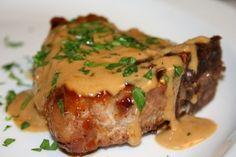 Meilleures côtelettes de porc grillées #recettesduqc #souper #porc