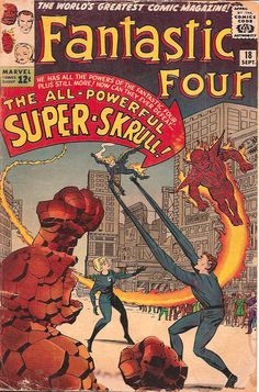 FF #18 First appearance of the Super Skrull