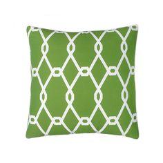 $16.  Jill Rosenwald Chain Link Square Decorative Pillow