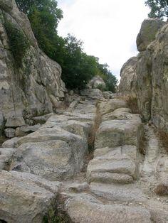 Bulgaria -Perperikon. Perperikon, Bulgaria. Ancient Thracian city and megalithic…