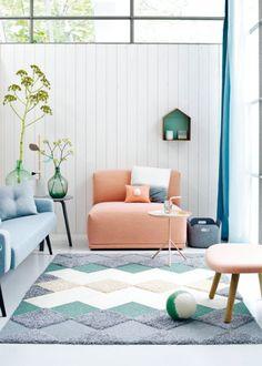Un tapis facile à faire en DIY