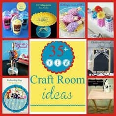 35 New Craft Room Organization Ideas