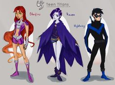 The Teen Titans actually play a minor role in my Unfortunate Speeding story, exept Nightwing because he still is the leader of Jinx and Kid Flash's team. For the story I already have thought out tw...