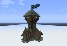 Minecraft Medieval Tower Schematic | trendminicraft.