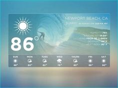 18 Free Weather Widget Ui For Designer Websites Icons Flat Design