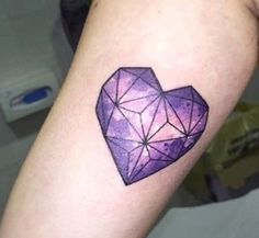 ... heart tattoos purple tattoo geometric heart tattoo galaxy tattoos