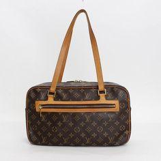 Louis Vuitton Cite GM Monogram Shoulder bags Brown Canvas M51181