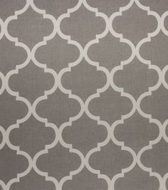 Home Décor Upholstery Fabric - Bishop Grey 19.99/11.99