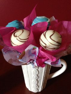 cup cake pops