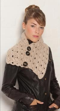 Get busy with an enticing, new project and learn to crochet a beautiful cowl.