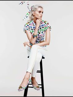 Abbey Lee Kershaw- colors H m Collaboration ad28a5daf810